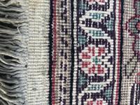 Antique Mughal Kashmir Wool Carpet (8 of 8)