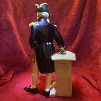 "Royal Doulton Figurine Titled ""The Captain"" Model Number (3 of 10)"