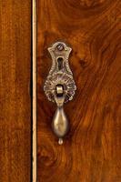 Walnut Queen Anne Style Bedside Cabinet c.1920 (5 of 14)