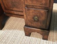 George III Style Burr Walnut Desk c.1920 (16 of 20)