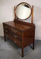 Edwardian Mahogany Dressing Table (2 of 8)