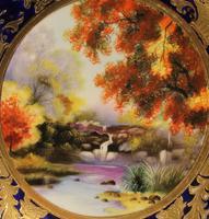 A Wonderful Noritake Cabinet Plate (2 of 5)