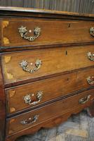 Dutch mahogany bombe commode / chest of drawers (5 of 8)