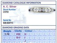 1.76ct Diamond & 18ct Yellow Gold Full Eternity Ring - Vintage c.1960 (6 of 9)