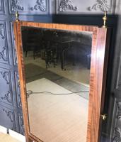 Regency Mahogany Framed Cheval Mirror (5 of 11)