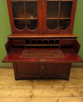Antique George II Mahogany Secretaire Bookcase of Immense Character (15 of 16)