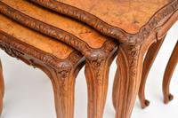 French Burr Walnut Nest of Tables (9 of 9)