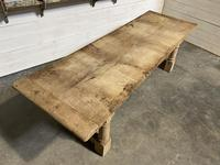 Large French Oak Rustic Farmhouse Dining Table (4 of 20)