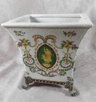 Wong Lee, French Renaissance Style, Bronze Footed, Craquelure Glaze, Jardinière (9 of 9)
