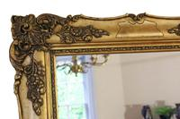 Antique Large Quality 19th Century Gilt Wall Mirror Overmantle (6 of 10)