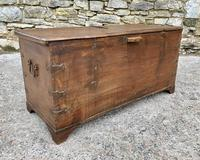 Large Antique Anglo Indian Trunk (9 of 26)