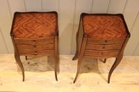 Pair of Mahogany Inlaid Bedside Cabinets (4 of 10)