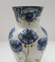 William Moorcroft, Macintyre Florian Ware Blue Poppy c.1900 (7 of 11)
