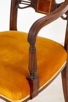 Set of 6 Sheraton Revival Dining Chairs (8 of 17)