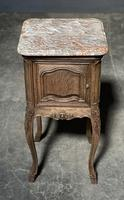 Pair of French Marble Top Bedside Cupboards (3 of 26)