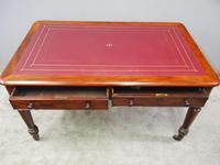 Victorian Mahogany Partners Writing Table (9 of 11)