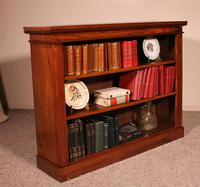 Open Bookcase from England in Walnut 19th Century (7 of 8)