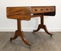 Solid Mahogany 1820s Sofa Table (4 of 7)