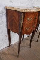 Very Nice Pair of Bow Front & Side Bedsides (8 of 10)