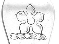 Sterling Silver Trefid Rat Tail Pattern Spoon - Antique James II (7 of 9)
