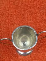 3 x Antique Sterling Silver Hallmarked Silver Trophies Cups C1930's (5 of 12)