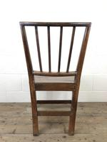 Pair of 19th Century Welsh Oak Farmhouse Chairs (10 of 10)