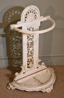 Cast Iron Stick Stand Stamped Railway Society (3 of 4)