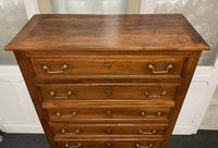 18th Century French Fruitwood Tall Chest of Drawers (5 of 18)