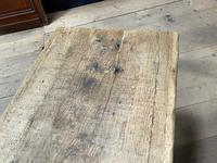 Superb Very Rustic French Oak Bleached Oak Farmhouse Dining Table (18 of 32)