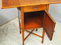 Pair of Thuya Wood Bedside Cabinets (9 of 13)