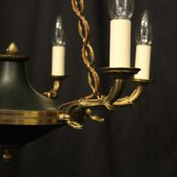 French Gilded  Empire 6 Light Chandelier (2 of 9)