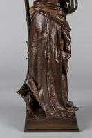 Magnificent 19th Century French Bronze Sculpture of Arabian Sentinel, Signed J.Angles (10 of 19)