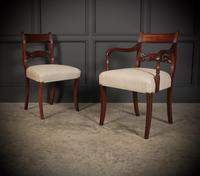 Set of 8 Regency Mahogany Dining Chairs (2 of 20)