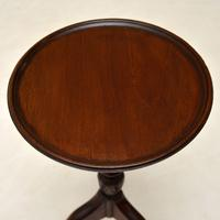 Antique  Mahogany Wine Table (3 of 5)