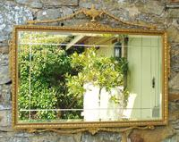 Good Antique Adam's Style Gilt Mirror Bevelled (3 of 5)