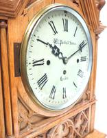 Antique English Fusee Bracket Clock by W Potts & Son Leeds 8 Day Fusee Timepiece Mantel Clock (6 of 14)