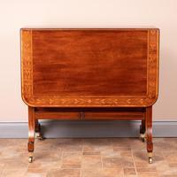 Inlaid Mahogany Edwardian Sutherland Table (8 of 19)