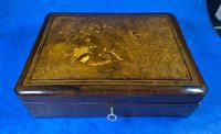 19th Century French Rosewood Jewellery  Box (4 of 11)