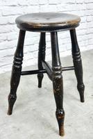 19th Century Windsor Style Tavern Stool (2 of 4)