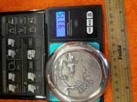 Vintage Solid Silver 0.900 Vietnam MY Ngme Compact with Mirror (8 of 8)