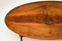 Regency Style Flame Mahogany Coffee Table (8 of 9)