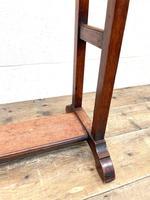 Antique Edwardian Mahogany Towel Rail (6 of 9)