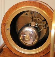 Mid Victorian Drumhead Visible Escapement Mantel Clock (11 of 11)