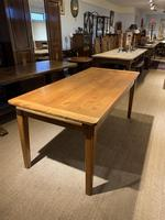 Farmhouse table cherry wood 71 inches long