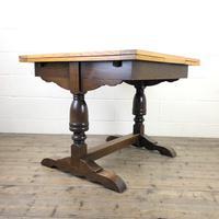 Antique Oak Draw Leaf Table (8 of 8)