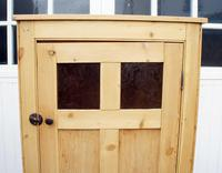 Early 20th Century Pine Hall Cupboard (5 of 17)