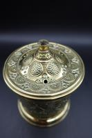 Attractive French Cast & Engraved Desk String Box (2 of 5)