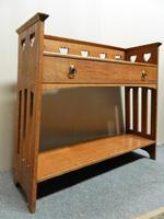 Arts & Crafts Oak Table -  Liberty & Co (5 of 8)