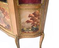 French Display Cabinet Vernis Martin Painted Bijouterie c.1900 (7 of 16)