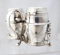 Fab Quality Victorian Silver Condiment Set George Fox London 1877 (10 of 12)